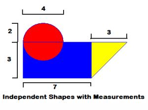 measured shape area
